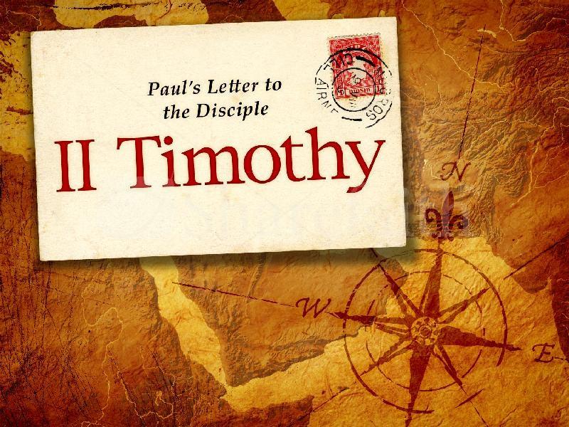 II Timothy  image