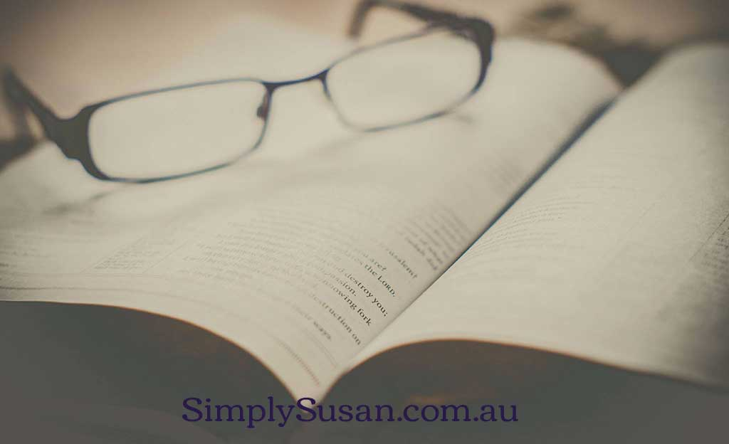 Musing and random thoughts at SimplySusan