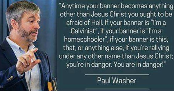 Paul Washer quote