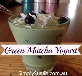 Green Matcha Yogurt