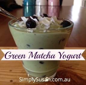 Green Matcha Yogurt