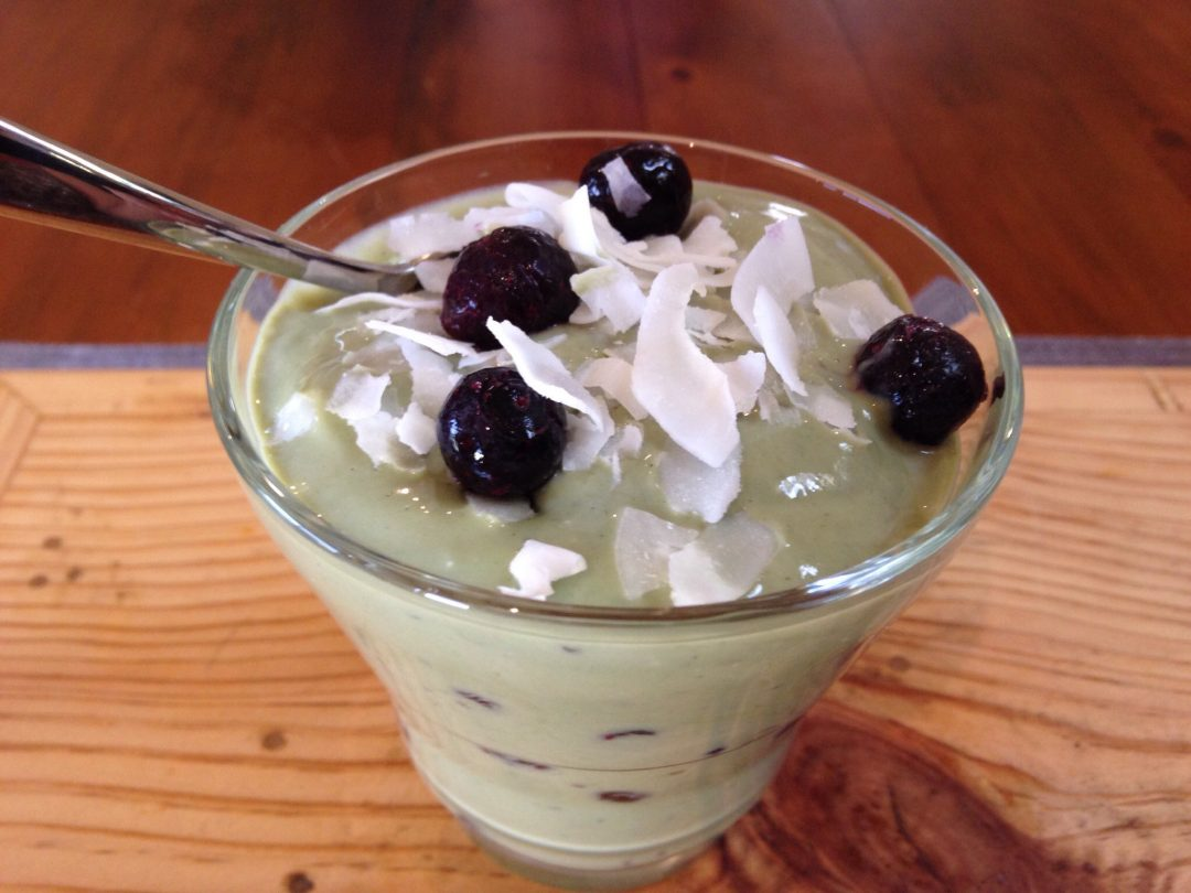 Green yogurt matcha