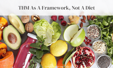 Trim Healthy Mama as a Framework for Life (not a diet)